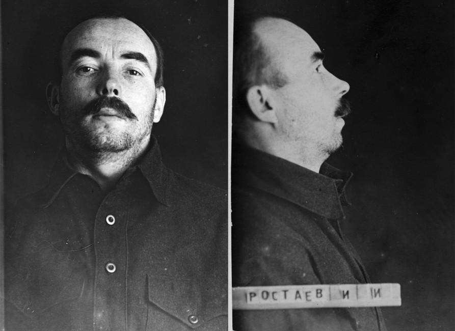 Ростаев Иван Иванович. Фото изархива ГАРФ