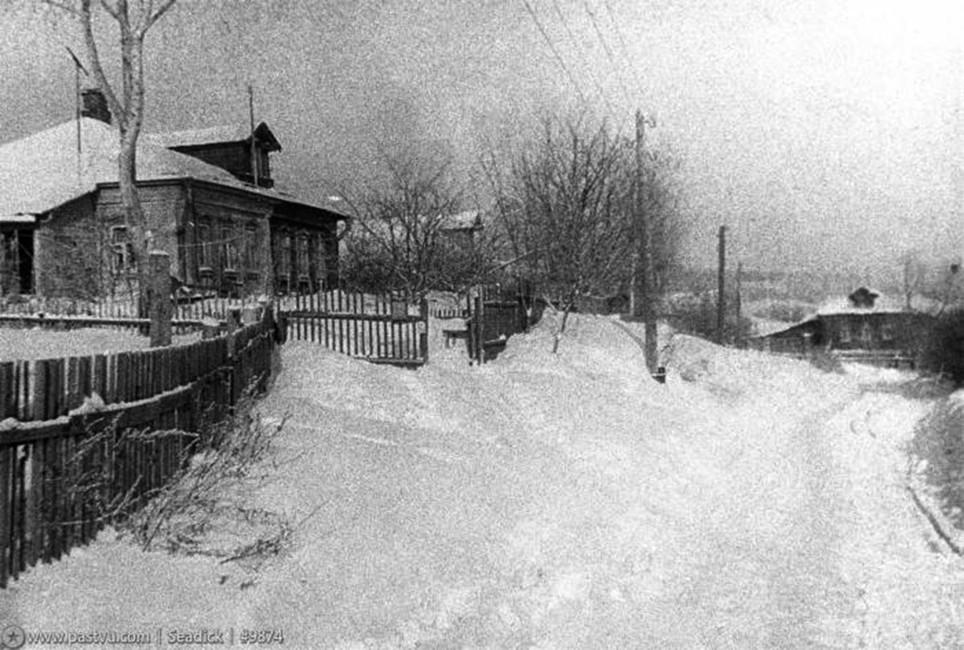 Деревня Матвеевское зимой. Фото: pastvu.com