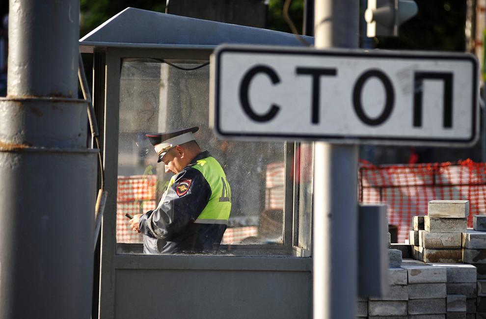 ВТвери трое инспекторов ГИБДД получили условные сроки заизбиение прокурора