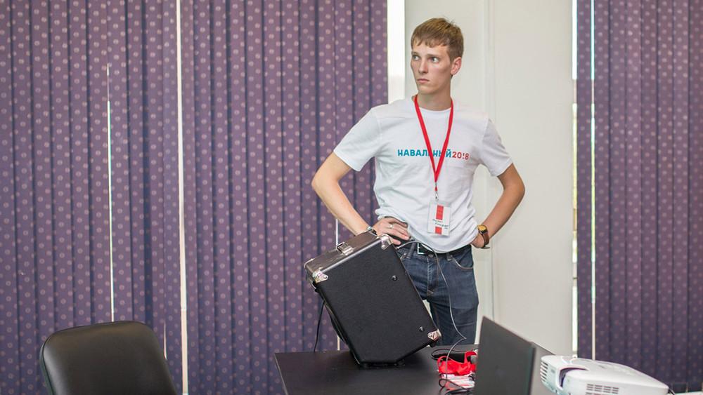 Координатора штаба Навального вЧите отчислили запропуск занятий поуважительным причинам
