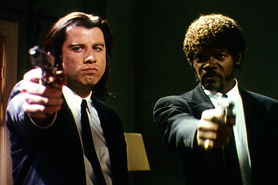 Кадр изфильма «Криминальное чтиво»