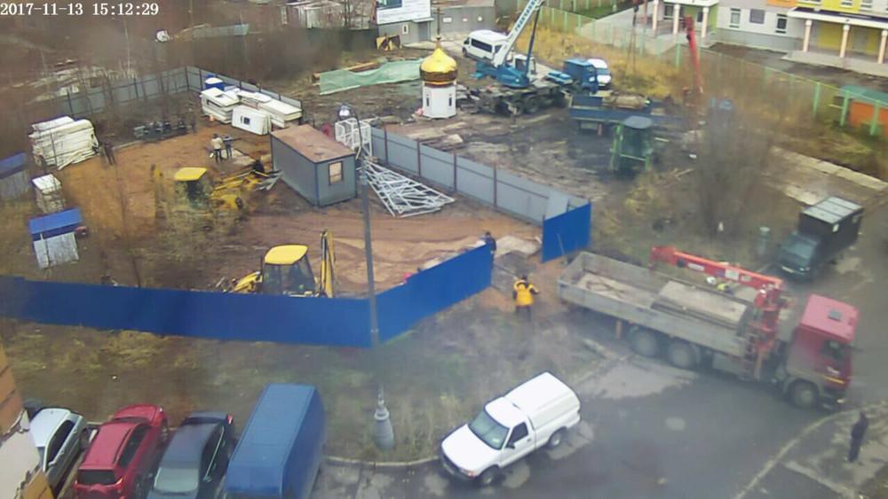 «Нам казалось, законыРФ выше беспредела РПЦ»: вКуркино возводят храм под охраной активистов