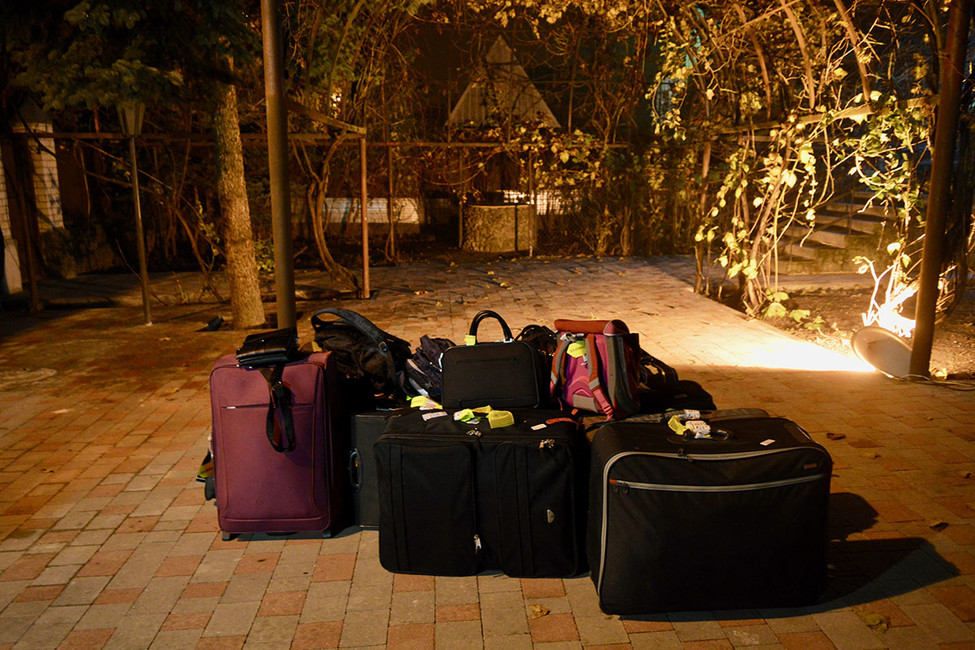 Багаж семьи Мартенс. Фото: Екатерина Филиппович
