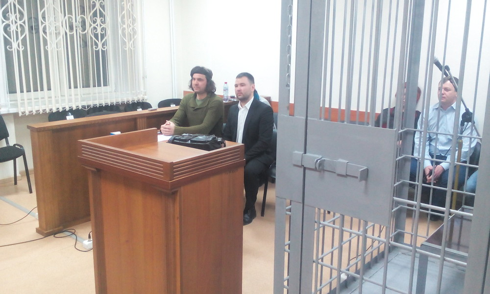 Дмитрий Толмачев всуде. Фото: Егор Симоненко