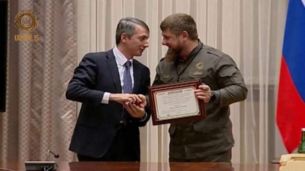 Кадырова наградили медалью зазаслуги вобласти медицины