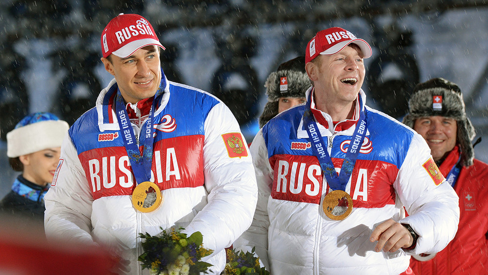 Россия потеряла две золотые медали Сочи-2014 иопустилась натретье место вобщем зачете