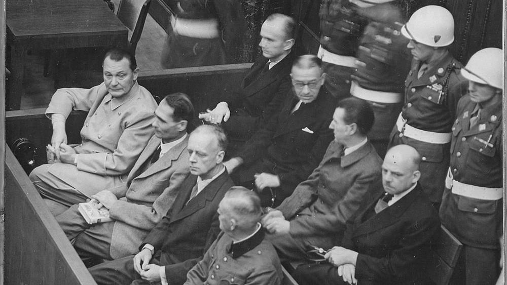 В«Артеке» реконструируют Нюрнбергский трибунал над нацистами