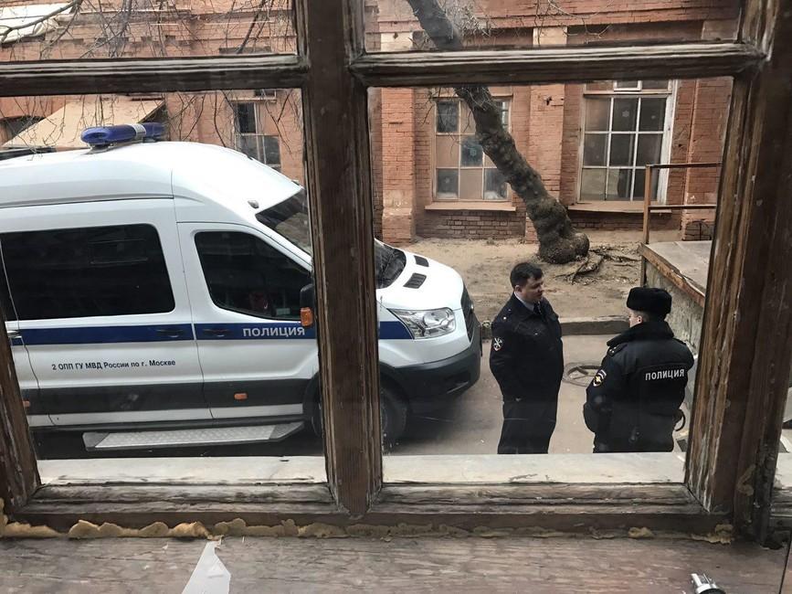 Полиция приехала опрашивать участников конференции движения «Открытая Россия» вМоскве