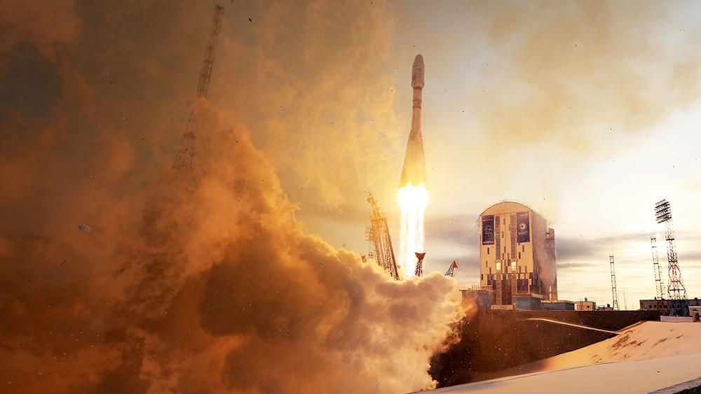 Запущенный скосмодрома «Восточный» спутник невышел насвязь