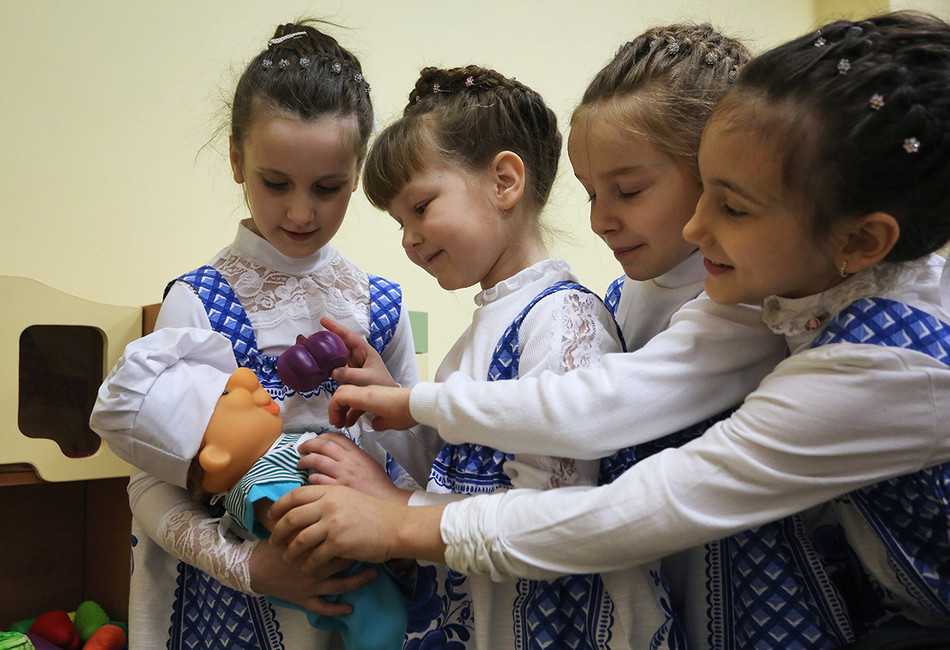 Детский сад. Фото: Светлана Холявчук/ Интерпресс/ ТАСС