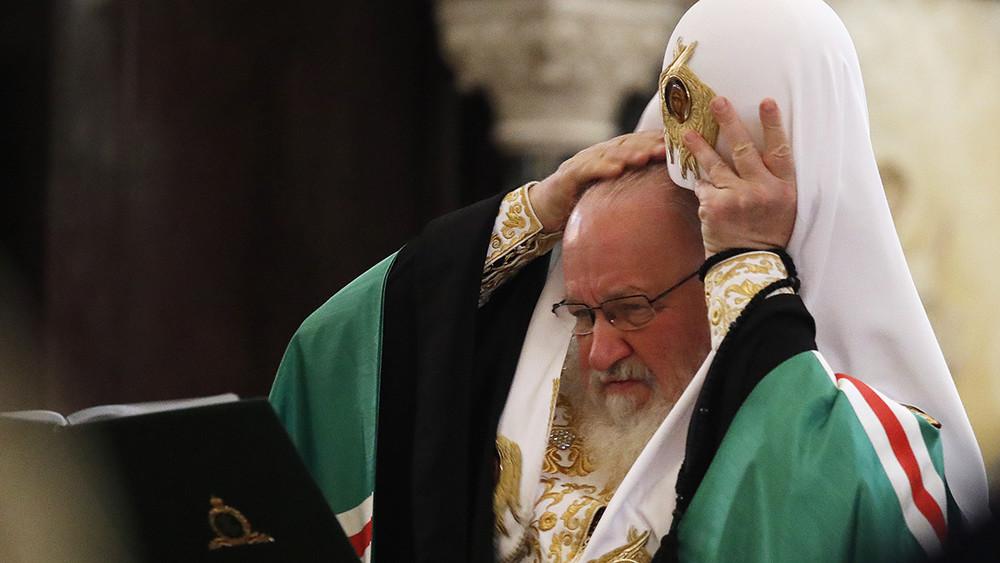 Кирилл говорит. Первый день Архиерейского собора РПЦ