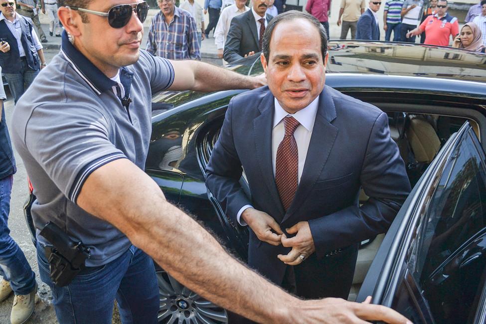 Абдул Фаттах Халил Ас-Сиси. Фото: Ahmed Hendawy/ Citizenside/ AFP