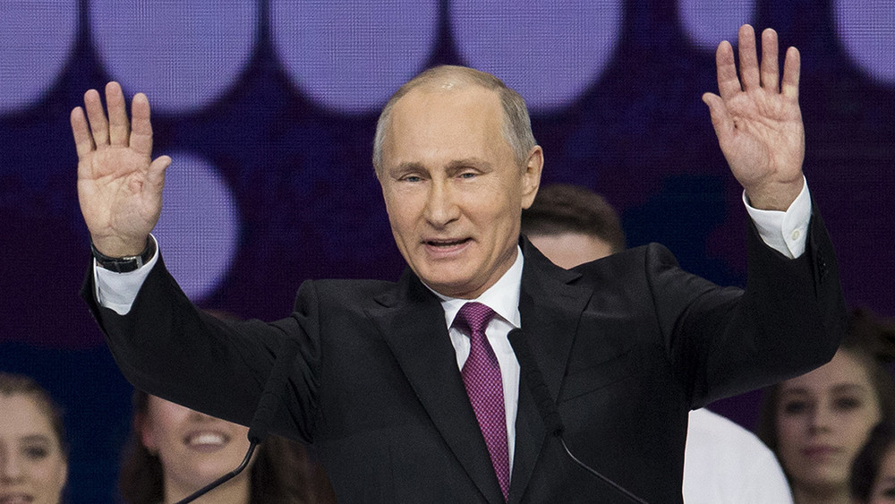 Путин заявил, что будет баллотироваться напост президента в2018 году