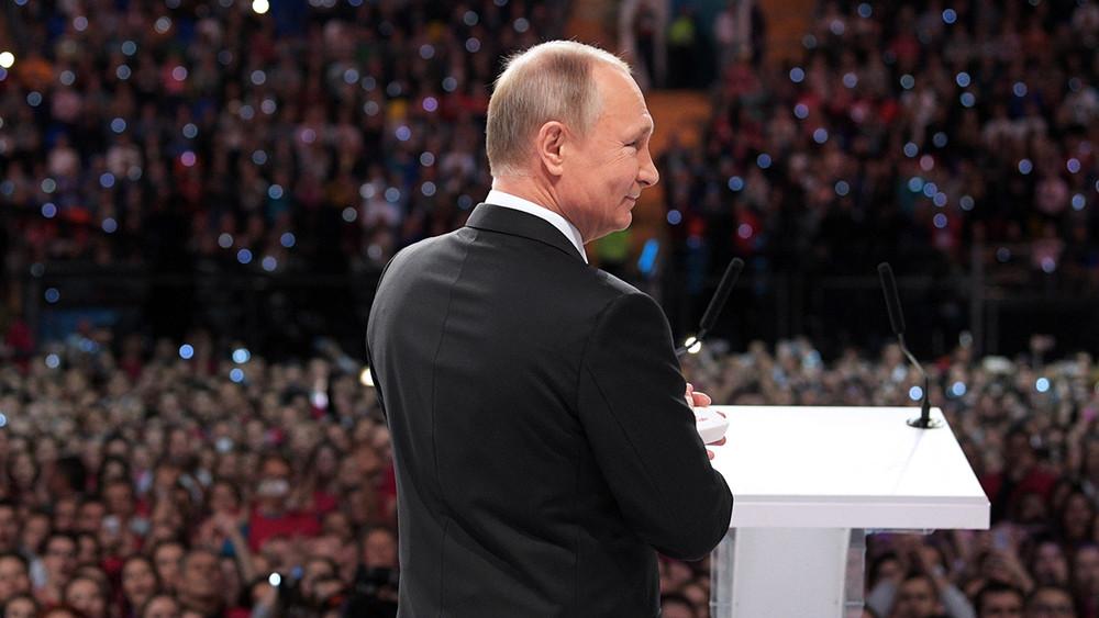 «Сенсация! Никто неожидал»: реакция всоцсетях назаявление Владимира Путина