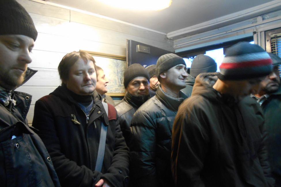 ВМоскве метростроители больше года немогут получить зарплату