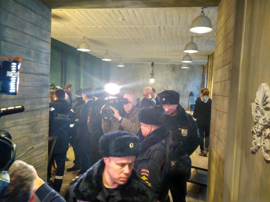 Милиция проверяет участников конференции «Открытая Россия»