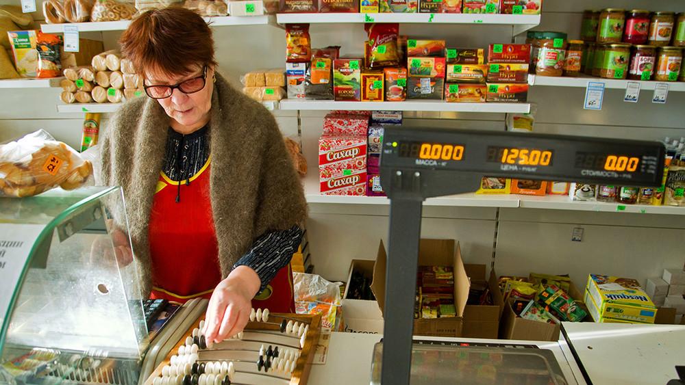 ВИркутской области жители нескольких населенных пунктов остались без продуктов питания