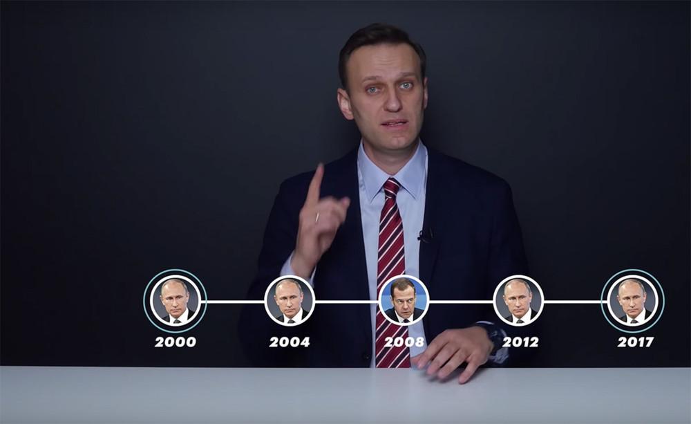 Алексей Навальный опубликовал свою предвыборную программу