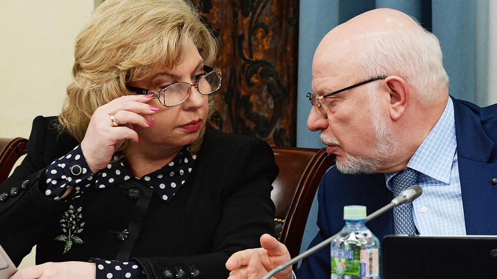 Общественная палата непослушала Москалькову иФедотова
