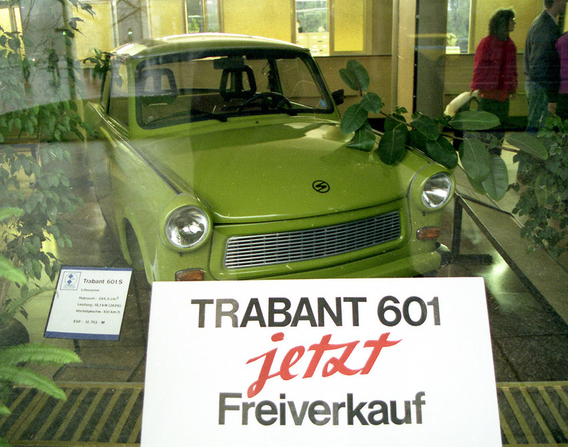 Автомобиль Trabant 601S. Фото: AP/ Архив