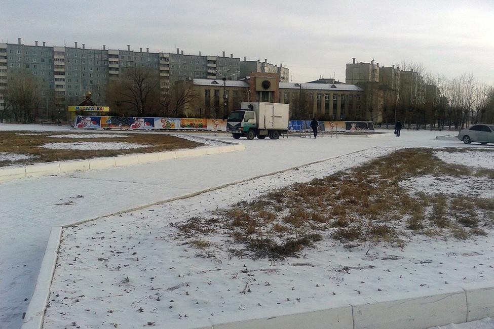Площадь труда. Фото: Александр Андреев