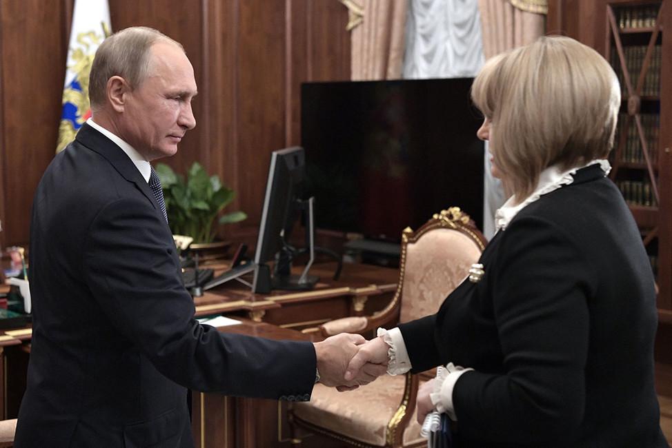 Ходорковский призвал Памфилову нерегистрировать Путина кандидатом впрезиденты России
