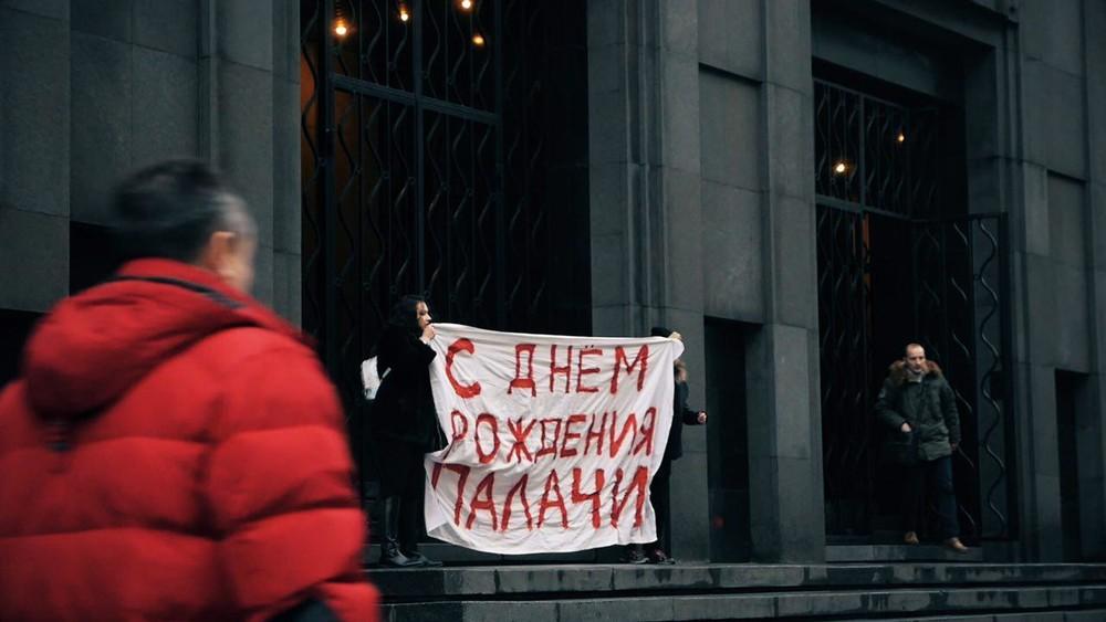 ВМоскве уздания ФСБ задержали участницу Pussy Riot Алехину ифотокорреспондента Открытой России