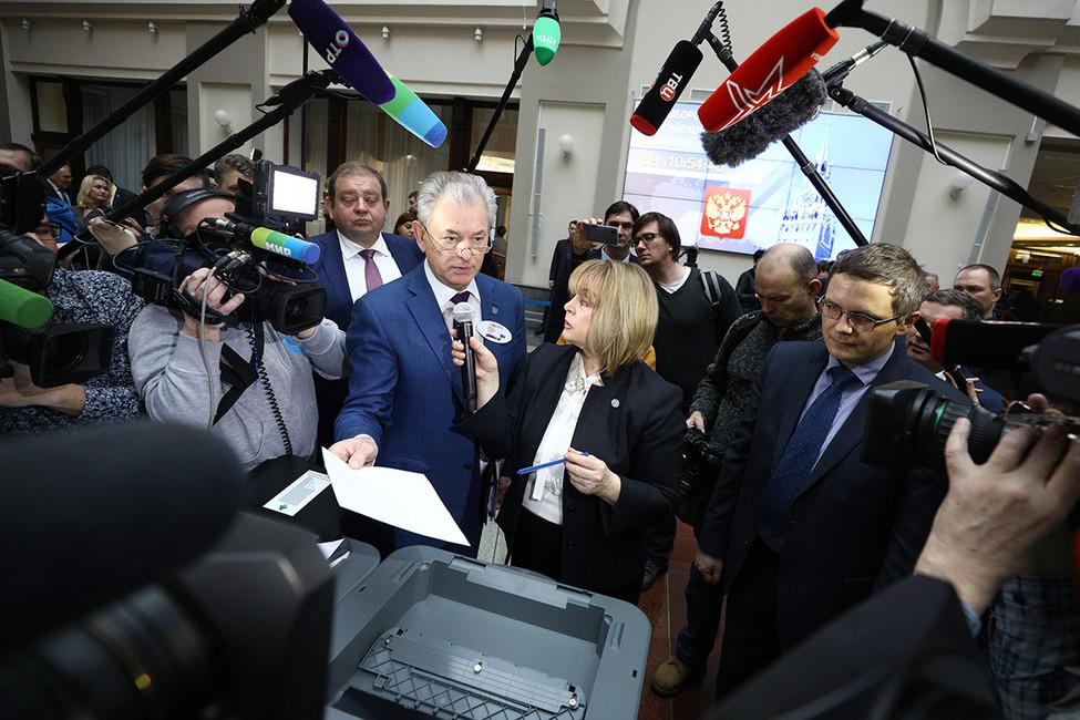 Глава ЦИК Памфилова заявила, что небоится ответственности зарегистрацию Путина навыборах